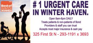 Voted #1 Urgent Care