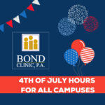 Independence Day Holiday Hours – 2021