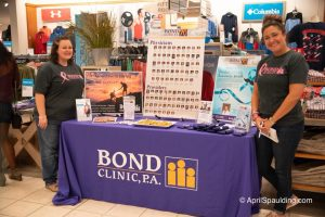 Sabrina & Ashley representing Bond Clinic and our physicians.