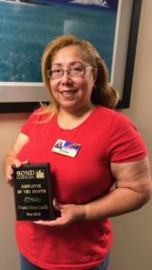 May Employee of the Month - Viviana Rivera Castillo